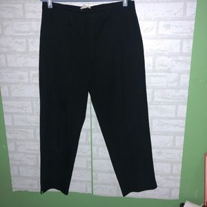 Womens Eileen Fisher stretch twill ankle pant M B4